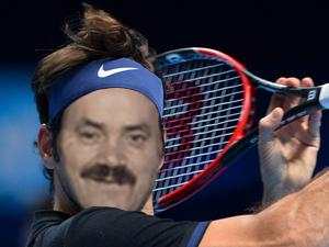 Sticker risitas federer nadal tennis sport sportif beau gosse bg blond classe