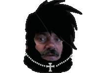 Sticker risitas dark sasuke lamasticot panachay sombre est ton passe dark is your past noir