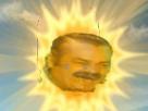 Sticker risitas soleil