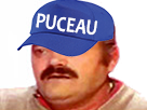 Sticker casquette puceau risitas33