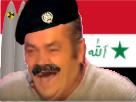 Sticker irak iraq saddam