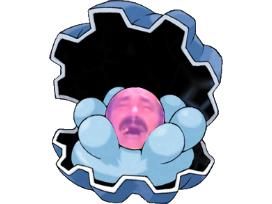Sticker pokemon coquiperl hoenn