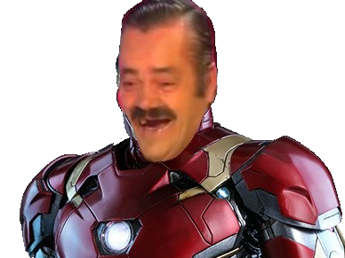 Sticker risitas ironman avengers