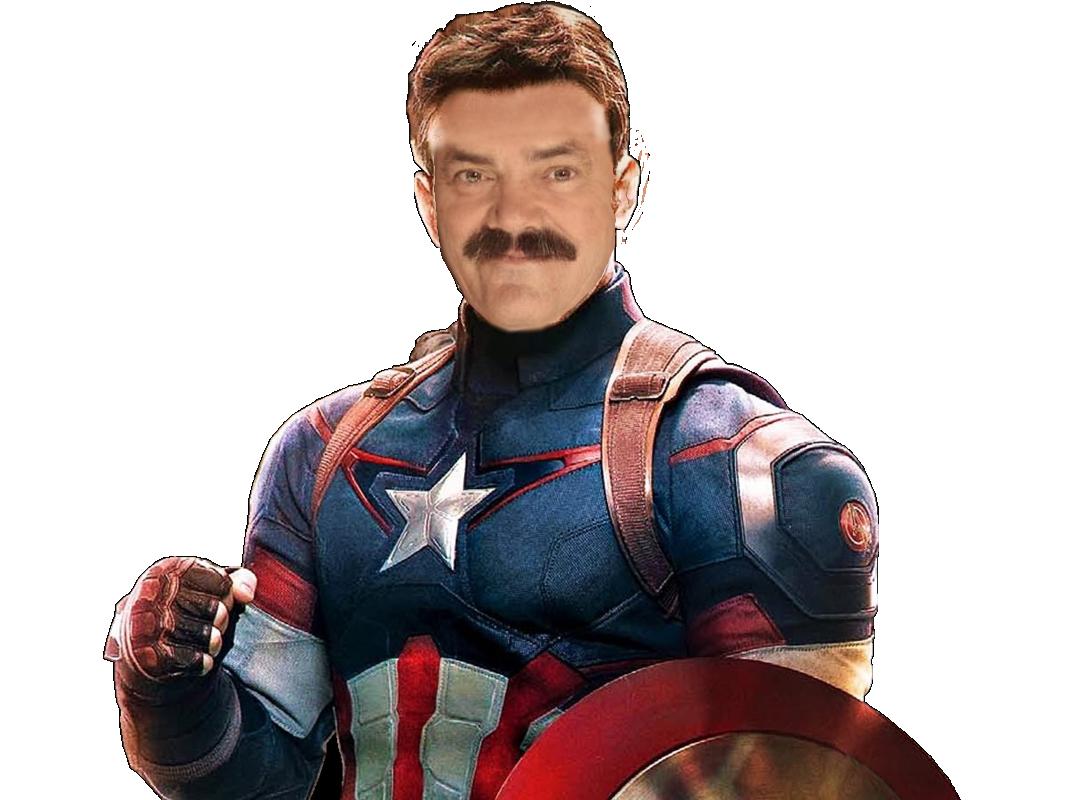 Sticker captain america marvel iron man heros bleu blanc rouge bouclier victoire classe beau gosse bg champion gagne reussi