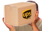 Sticker ups fedex laposte poste colis commande boite box peignoir issou risistas