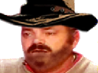 Sticker cow boy cow boy paysan ouest far west revolver blase depite degoute lone seul triste red dead rdr