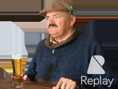 Sticker alcolique alcolo bierre bar