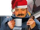 Sticker police noel gilbert