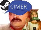 Sticker risitas soldes hiver steam 2016 cimer chef gaben gabe newell dieu