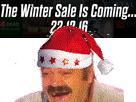 Sticker risitas soldes hiver steam 2016 cimer chef gaben gabe newell dieu winter is coming 221216