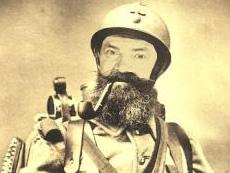 Sticker poilus 14 18 ww1 guerre mondiale 1ere soldat tranchee troufion chair a canon heros valeureux guerrier