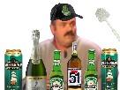 Sticker worthless biere alcool