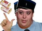 Sticker deux sucres deux beurres diner presque parfait grosse truie feministe