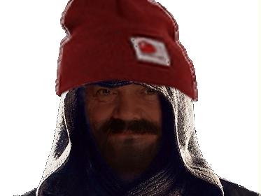 Sticker assassins creed assassin bonnet barbe sombre est mon passe templiers