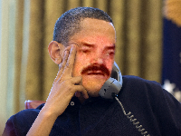 Sticker telephone obama barack interessant appel ennuyeux