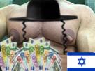 Sticker teton juif argent bridgely risitas