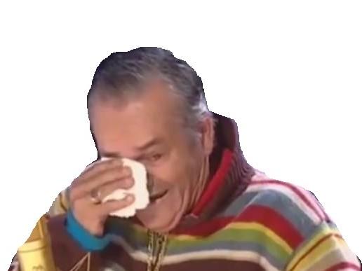 Sticker risitas mouchoir larmes