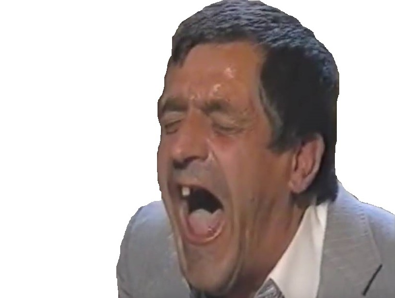 Sticker goudja cunao dent rire