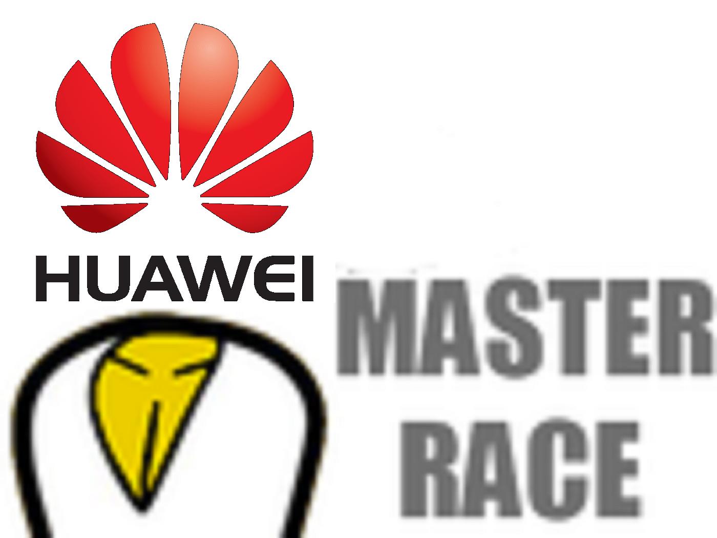 Sticker huawei master race w9 stickers jvc