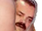 Sticker anus cul zoom 2