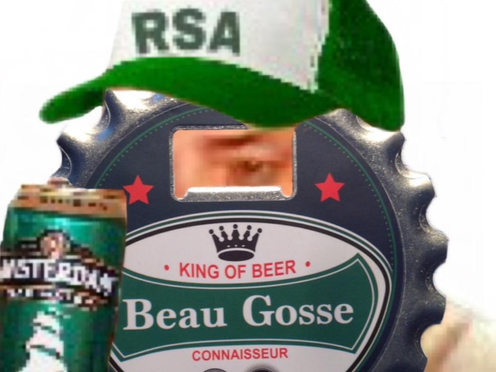 Sticker rsa biere prolo beauf classe bg alcool