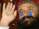 Sticker adieu au revoir bye good indien inde partir triste pleur emotion guruji gurmeet ram rahim
