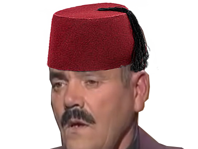 Sticker turquie turc fez attentat chapeau triste