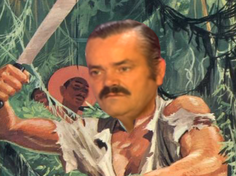 Sticker aventure jungle colonies asie afrique amazonie bob morale tintin aventurier