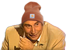 Sticker jesus bonnet carhartt