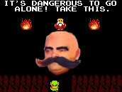 Sticker zelda its dangerous to go alone take this idtgatt danger alone nes meme league of legends lol braum support moustache