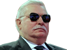 Sticker pologne polska walesa president boss