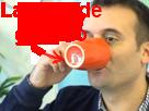 Sticker philippot fn tasse gaucho larmes