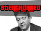 Sticker stenchon melenchon fn stenchonned owned philippot