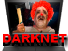 Sticker darknet web deep web horrible psychopathe hache pedo assasin coco