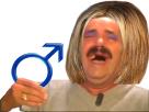 Sticker risitas femen feministe feminazie rire mdr olol male homme cis hetero privilege