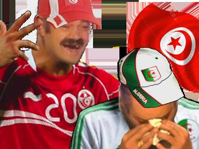 Sticker algerie pls tunisie football can 2017