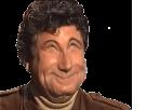 Sticker jesus deforme sourire nerveux content tres content