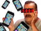 Sticker risitas iphone 7 6 euro 5000 euro