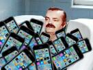 Sticker risitas iphone 7 a 6 euro douche