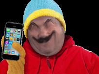 Sticker south park cartman iphone 7