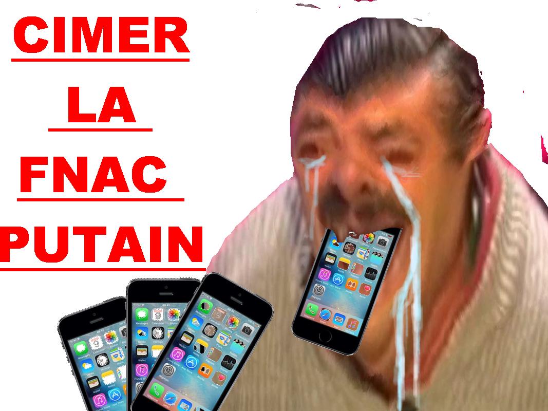 Sticker risitas iphone 7 la fnac cimer la fnac larme pleure content