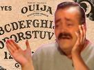 Sticker risitas table de ouija goudja esprit fantome demon diable peur horreur shetan mal dilemme