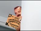 Sticker celestin table ouija peur horreur fantome demon diable dilemme