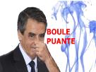 Sticker fillon boule puante