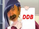 Sticker risitas waifu ddb