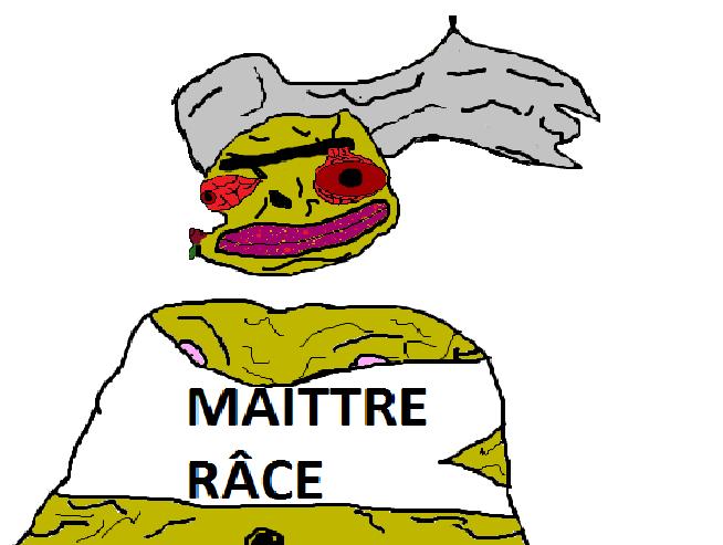 Sticker maitre race
