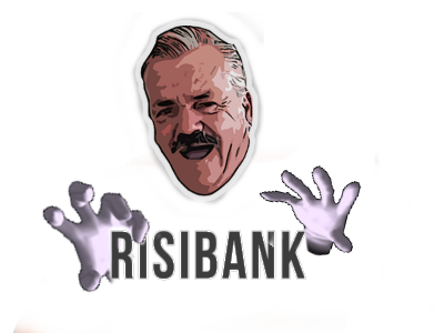 Sticker risibank site banque