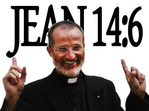Sticker abbe guy pages catholique catholicisme christianisme religion