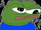 Sticker pepe the frog qui se pose des questions point dinterrogation