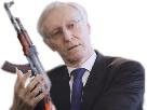Sticker lesquen boobs terroriste arabe bougnoul ak 47 arme badass